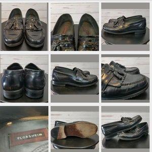 FLORSHEIM Mens Shoes 10.5 Black